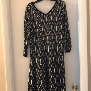 Lane Bryant Sweater Dress with 3/4 length sleeves